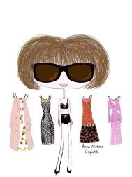 Anna Wintour (dress-up)